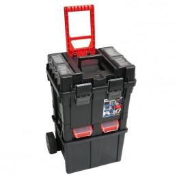 Dėžė įrankiams 495x360x710mm. PVC ant ratukų N0200