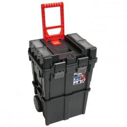 Dėžė įrankiams 450x350x645mm. PVC ant ratukų N0201