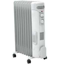 Šildytuvas/radiatorius tepalinis 2,5kW elektrinis su ventiliatoriumi DA-J2050F