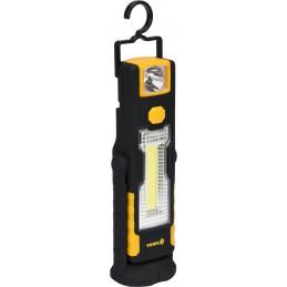 Lempa COB LED 3+1W, 220+70lm su magnetu VOREL Y-82733