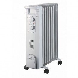 Šildytuvas/radiatorius tepalinis 2,0kW elektrinis su ventiliatoriumi DA-J2052F