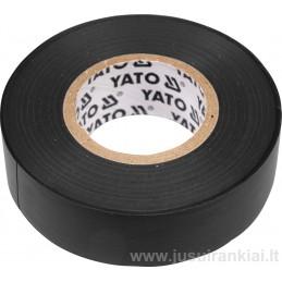 Izoliacinė juosta juoda YATO YT-8165