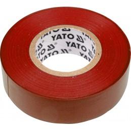 Izoliacinė juosta raudona YATO YT-8166