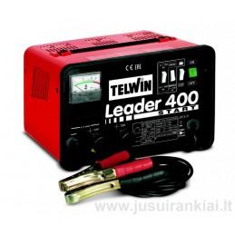 Akumuliatoriaus pakrovėjas-paleidėjas LEADER400 START 12-24V TELWIN