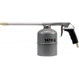 Pulverizatorius su metaliniu indu apačioje YATO YT-2374