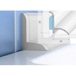 Profilio voniai aksesuarai (2užbaigimo, 2vidiniai kampai) P56 EFFECTOR 183KL-A