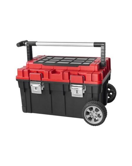 Įrankių dėžės, krepšiai, vežimėliai, diržai