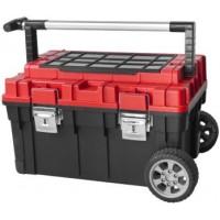 Įrankių dėžės, krepšiai, vežimėliai, diržai įrankiams
